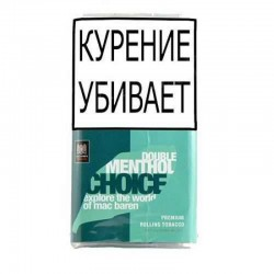 Табак для самокруток Mac Baren - Double Menthol Choice 40 гр