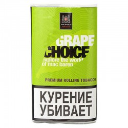 Табак для самокруток Mac Baren Grape Choice 40 гр